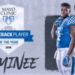 UK Football's Paschal Named Mayo Clinic Comeback Player of the Year Nominee