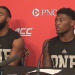UofL Football Russ Yeast & C.J. Avery Post Game vs Notre Dame