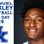 UK Wildcats Basketball Immanuel Quickley at 2019 Media Day