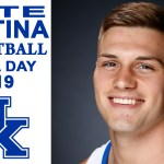 UK Wildcats Basketball Nate Sestina at Media Day 2019