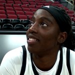 Louisville WBB Jazmine Jones – Media Day 2019