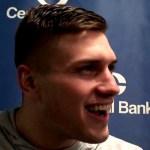 UK Wildcats Basketball Nate Sestina Postgame vs Kentucky State