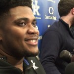 Kentucky Football Calvin Taylor on WIN vs Louisville