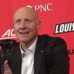 Louisville Basketball Coach Chris Mack on WIN vs #4 Michigan