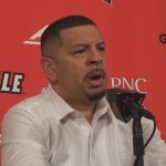 Pittsburgh Basketball Coach Jeff Capel on LOSS to #1 Louisville