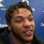 Kentucky Football RB Chris Rodriguez on WIN vs Louisville
