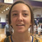 Warren East HS Basketball Kelsey Sparks WIN Game MVP