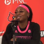 Louisville WBB Evans Named ACC Player of the Year, Shook Named Defensive Player of the Year