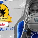 UK WBB's Rhyne Howard Placed on John R. Wooden Award National Ballot