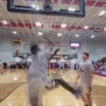 John Hardin HS Basketball 2019-20 Warmups vs Campbellsville in 5th Region Tourney