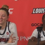 Louisville WBB Kylee Shook & Jazmine Jones Recap VTech Win On Sr Night