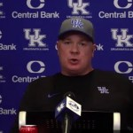 UK Football Coach Mark Stoops Previews Georgia