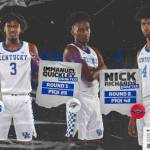 UK MBB: Three Wildcats Selected in the 2020 NBA Draft