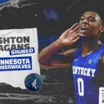 UK MBB: Hagans Signs Two-Way Contract with Minnesota Timberwolves