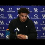 UK Football QB Joey Gatewood on Loss To Georgia