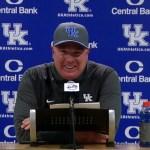 UK Wildcats Football Coach Mark Stoops Postgame vs South Carolina