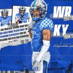 UK Football Gets Wide Receiver Transfer Wan'Dale Robinson