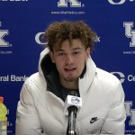 UK Wildcats Basketball Devin Askew Postgame vs Alabama Postgame
