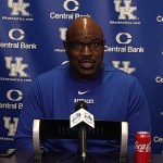 UK Wildcats Football Coach Settle 2021 Pre-Spring Practice Presser