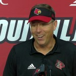 Louisville Cardinals Football Coach Satterfield After WIN vs UCF