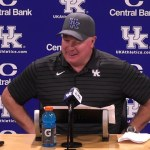 UK Wildcats Coach Stoops After WIN vs LSU To Go 6-0