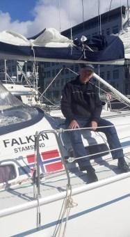 """""""Falken"""" med skipper Leif"""