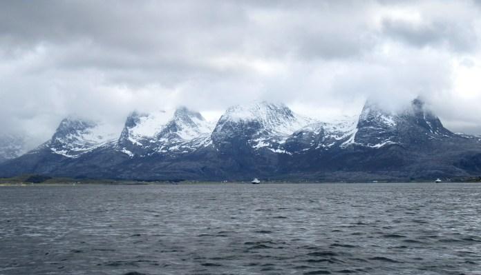 De syv søstre utenfor Sandnessjøen