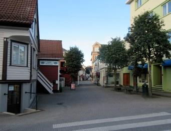 Gågata i Egersund