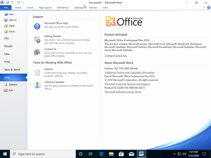 Office 2010 Full Active + Tutorial Activator