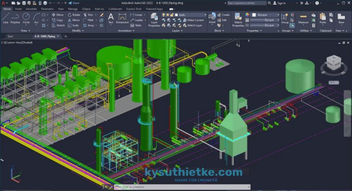 Download AutoCAD 2022 and what's news - 3D Graphics Technical Preview