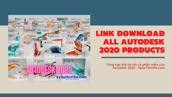 Link Download All AutoDesk 2020 Products Multilingual