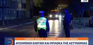 lockdown-police, περιοριστικά μέτρα