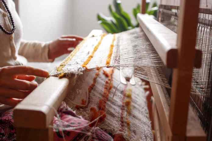 loom woven