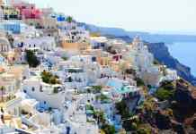santorini, travel, holidays