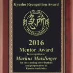 2017 Kyusho Recogntion Awards
