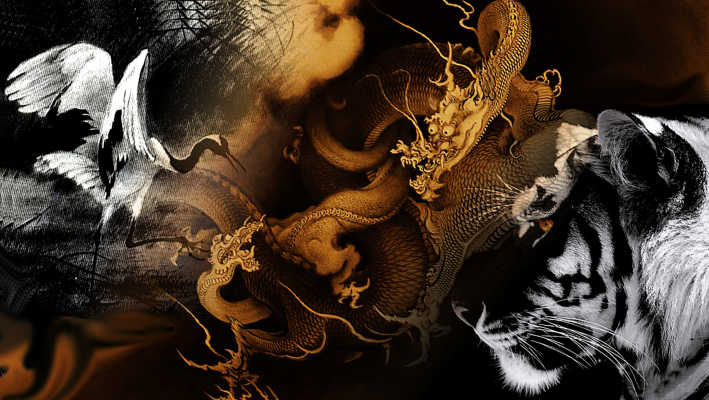 Cranes and Tigers and Dragons Oh My