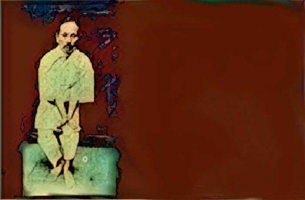 Funakoshi's Hangetsu Suffocation