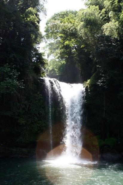 天瀨三瀑之一、慈恩瀑布