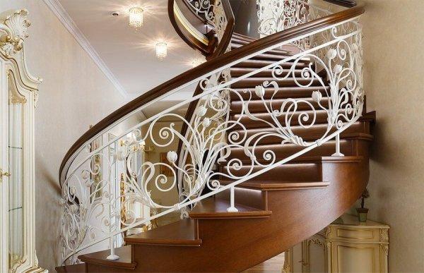 Кованые лестницы, винтовые лестницы ручной работы: Кузница ...