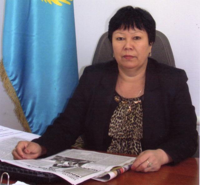 Роза Кәдірберді,директордың ғылыми-әдістемелік ісі жөніндегі орынбасары