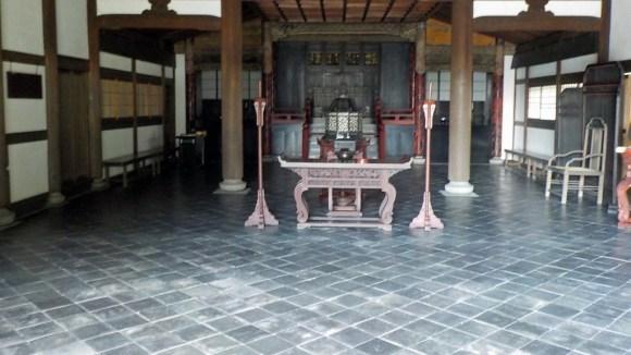 東福寺開山堂内部