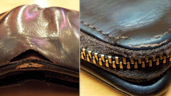 ポーターの財布 破れ 品番:101-06003