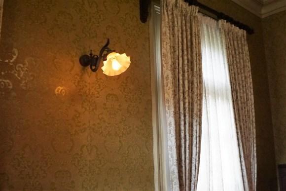 旧岩崎邸壁紙