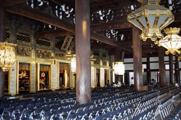 西本願寺 御影堂内部