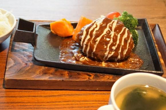 ステーキ&ワイン 肉屋 銀次郎 近江牛ハンバーグ
