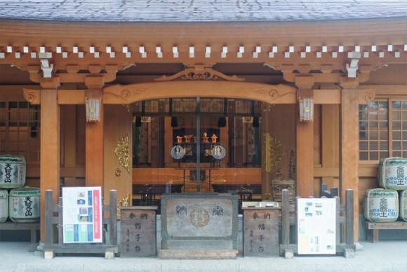 高麗神社 拝殿