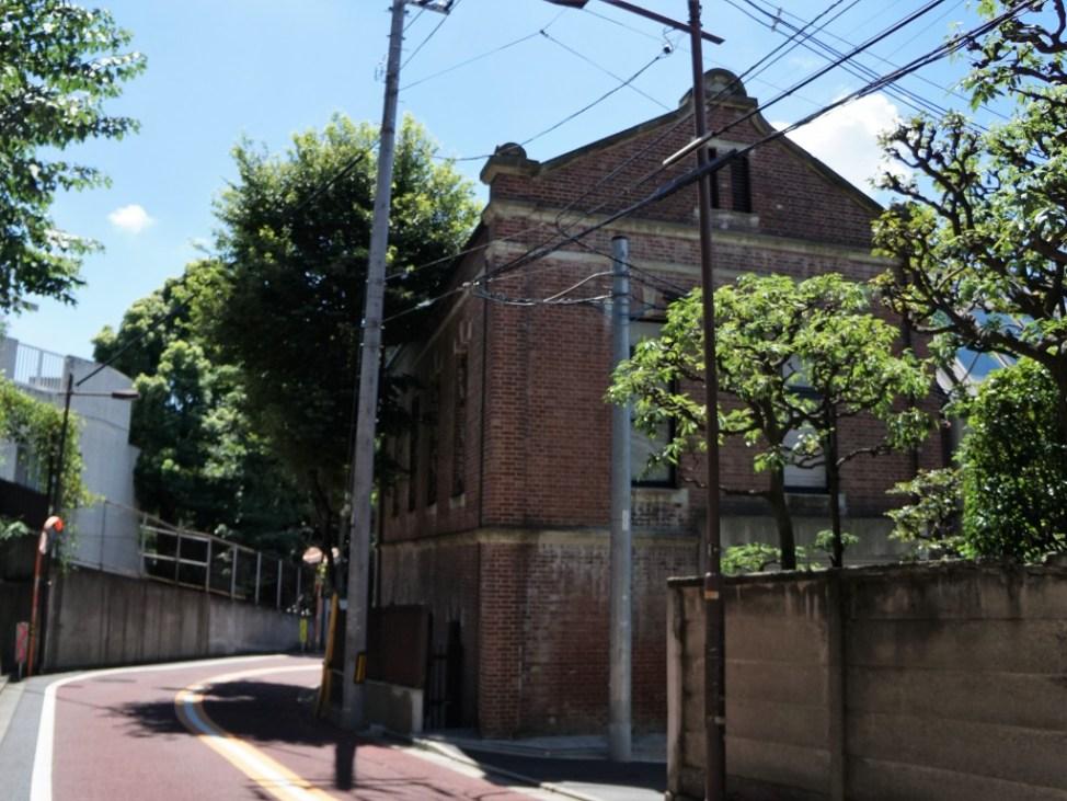 上野池之端レンガ建物