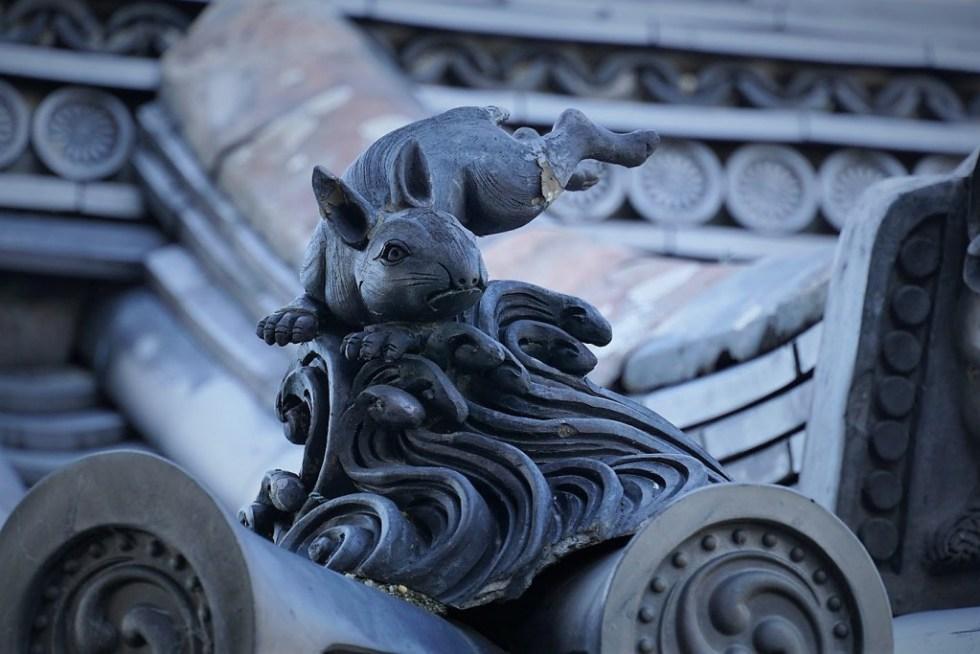 法隆寺 動物