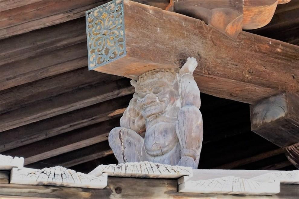 法隆寺 動物 彫刻