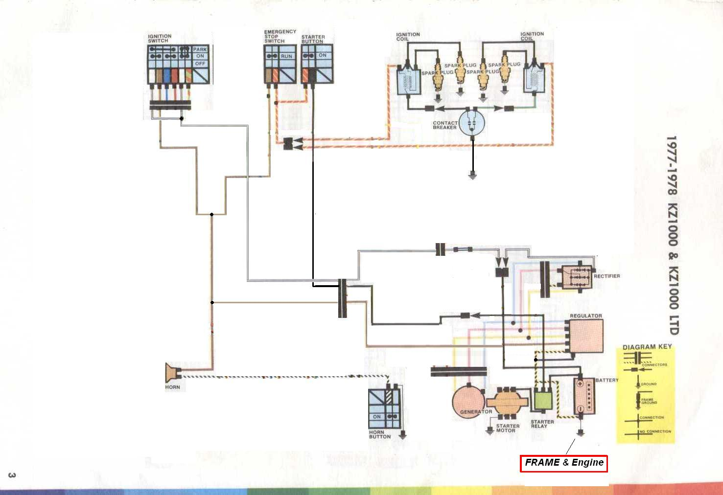 WRG-0704] Kz1000 Engine Diagram